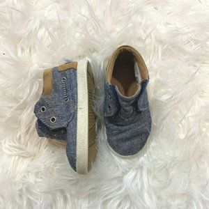 TOMS Baby Boy Chambray Shoes Size 5